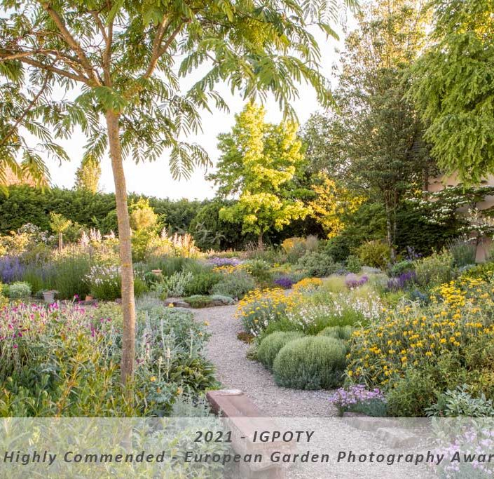 "IGPOTY Highly Commended – Category: European Garden Photography Award – ""Gravel Garden"""
